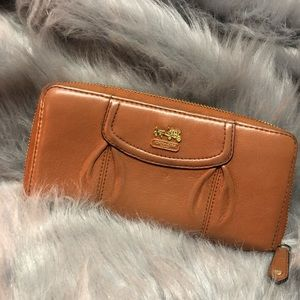 Well loved Coach leather wallet